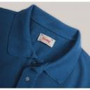Polo Piqué Blu Vintage55
